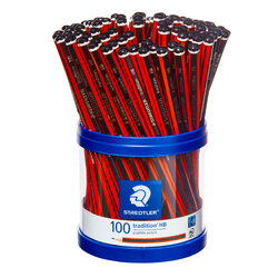 Staedtler Tradition Graphite Pencils HB 100 Pack