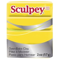 Sculpey III Modelling Yellow  57g