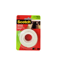 Scotch Indoor Mounting Tape 25mm x 1.2m