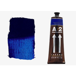 A2 Chroma Art Students Acrylic 120ml Tube - Pthalo Blue