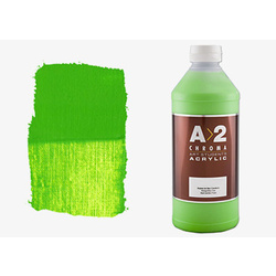 A2 Chroma Art Students Acrylic 1 Litre - Green Light