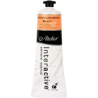 Atelier Interactive Artist's Acrylics S2 Naples Yellow Reddish 80ml