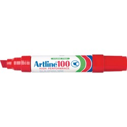 Artline 100 Permanent Marker Red
