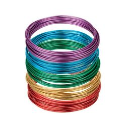 Zart Anodized Coloured Wire 2mm Assorted Pack of 5 colours 6m Each