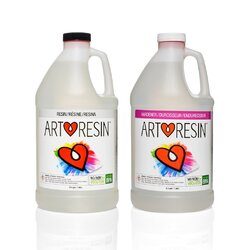 Art Resin. PLEASE NOTE: 3.78ltr Kit contains 1.89ltr Resin and 1.89ltr of Hardener