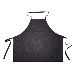 Black 100% Cotton Apron
