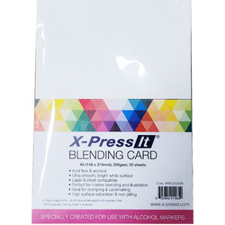 X-Press It A5 Blending Card 20 Sheets
