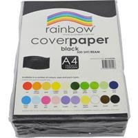 Cover Paper 125gsm A4 Black 500 Sheets