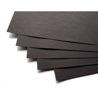 Cover Paper 125gsm 510mm 760mm Black 250 Sheets