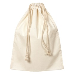 Calico Bag with Drawstring 35 x 45cm Pack of 10