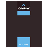 Canson Visual Journals 60 Sheet 24x32 A4 Blue Carton of 10