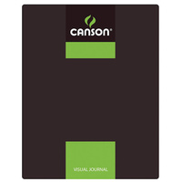 Canson Visual Journals 60 Sheet 24x32 A4 Green Carton of 10