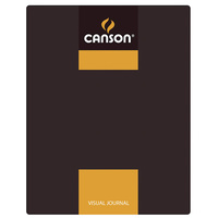 Canson Visual Journals 60 Sheet 24x32 A4 Yellow