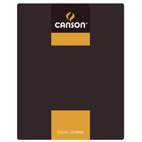 Carton of 10 Canson Visual Journals 60 Sheet 24x32 A4 Yellow
