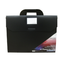 Art Folio A1 Polypropylene Carry Case Pleated