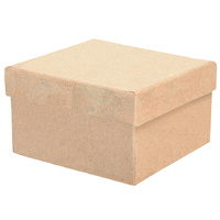 Zart Cardboard Box Square Shape Pack of 6