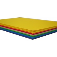 Spectrum Board 200gsm A4 100 Sheets 10 Assorted Colours