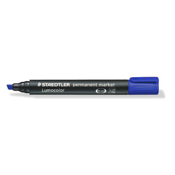 Staedtler Lumocolor 352 Permanent Marker Blue Box of 10