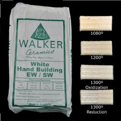 White Hand Building Clay 10kg Blocks