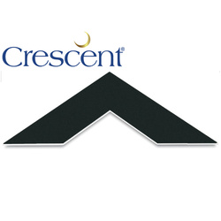 "Carton of 25 Crescent Mount Board Smooth Black 32"" x 40"""