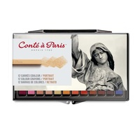 Conte Crayons Assorted Set of 12 Portrait