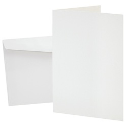 Zart Blank Cards & Envelopes Pack of 20