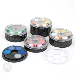 Koh-I-Noor Watercolour Stackable Disc Set 36 Colours