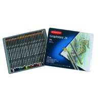 Derwent Graphitint Pencils Water Soluble 24 Set