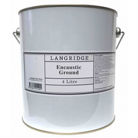 Langridge Encaustic Ground Primer 4 Litre