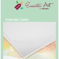 Encaustic Art Card 130gsm A6 White Pack of 100