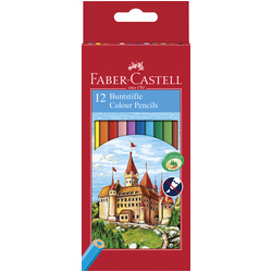 Faber-Castell Classic Coloured Pencils Set of 12
