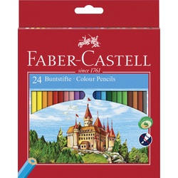 Faber-Castell Classic Coloured Pencils set of 48