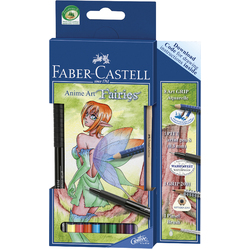 Faber-Castell Art Grip Aquarell Watercolour Sets Anime Art Fairies Set