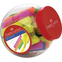 Faber-Castell Textliner Ice Highlighters Assorted Tub of 25