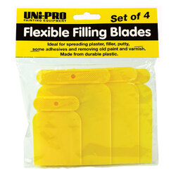 Uni-Pro Flexible Filling Blades Set of 4