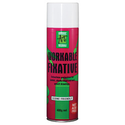 Workable Fixative - Not acid-free. 400g