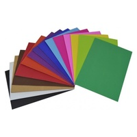 Corrugated Coloured Card A4  25 Sheets