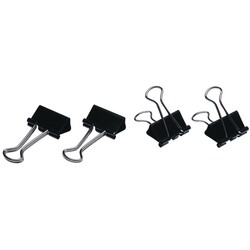 Foldback Clips 41mm Pack of 12
