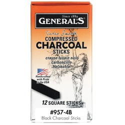 Generals Charcoal 12 Box - Black