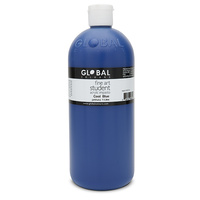 Global Colours Acrylic Paint Cool Blue 1 litre