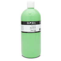 Global Colours Acrylic Paint Green Light 1 litre