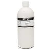 Global Colours Acrylic Paint Metallic Pearl 1 litre