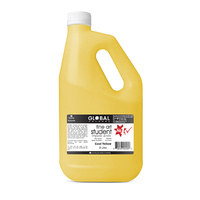 Global Colours Acrylic Paint Cool Yellow 2 litres