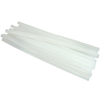 High Temp Hot Glue Gun Sticks Large 30cm - Pack of 10 Clear