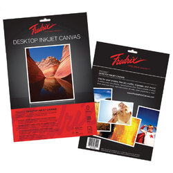 Fredrix Desktop Inkjet Canvas A3 6 Sheets