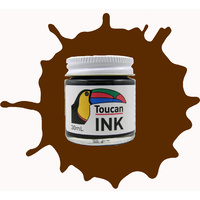 Tintex Toucan Technical Drawing Ink 30ml Umber