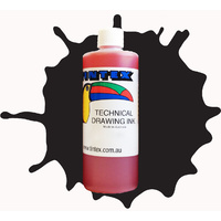 Tintex Toucan Technical Drawing Ink 500ml  Black