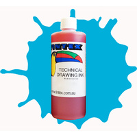 Tintex Toucan Technical Drawing Ink 500ml Sapphire