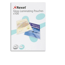 Laminating Pouch Gloss A4 125 Micron Pack of 100