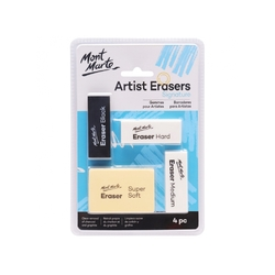 Mont Marte Signature Artist Eraser Set of 4